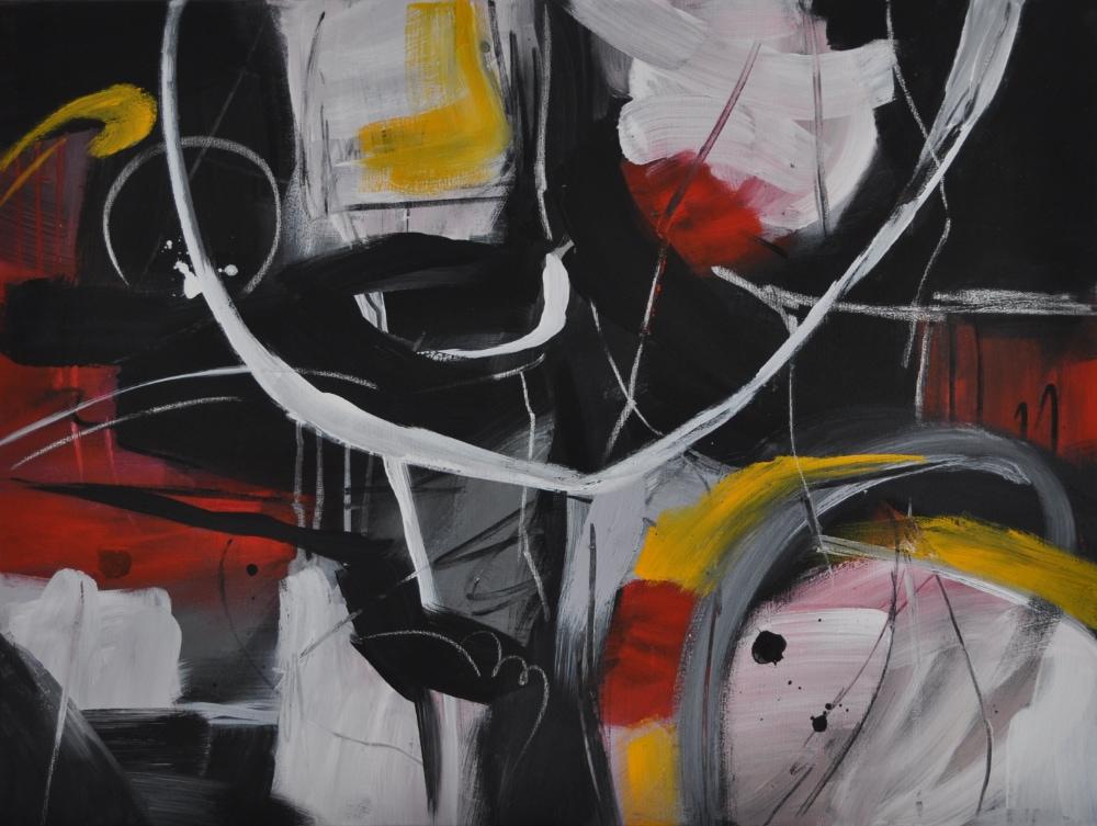 02_2020, ACRYL/MISCHTECHNIK AUF LEINWAND, 60 x 80 CM