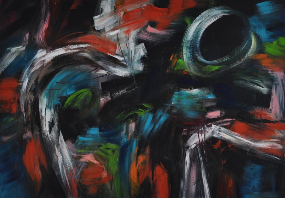 07_2020, ACRYL AUF LEINWAND, 70 x 100 CM