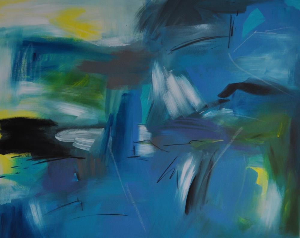 08_2021, ACRYL/MISCHTECHNIK AUF LEINWAND, 80 x 100 CM